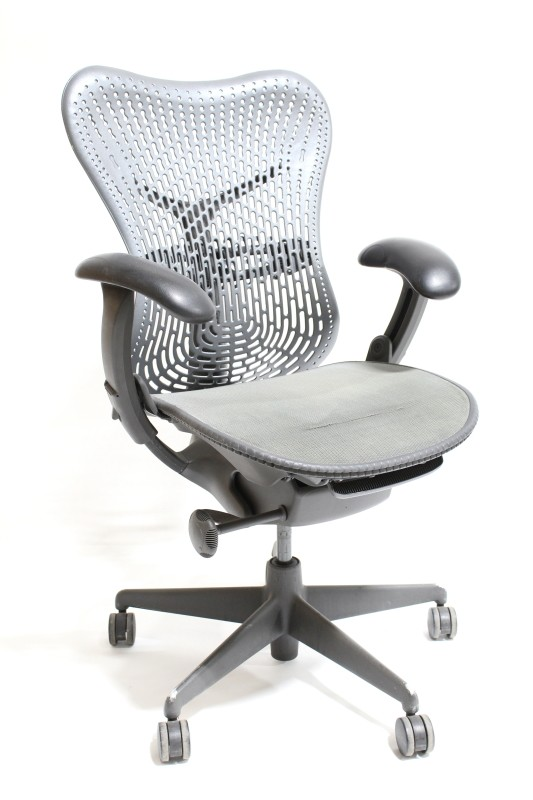 Chair Office Mirra Ergonomic Perforated Mesh Seat Back