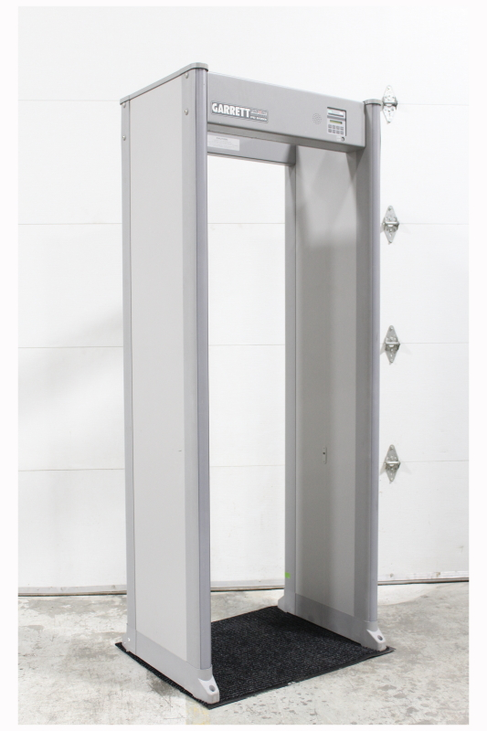 security misc walk through metal detector scanner for screening at