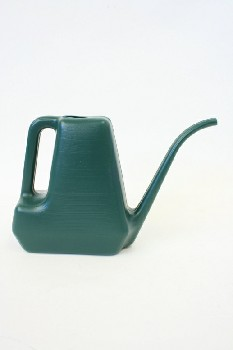 Garden, Watering Can, HANDLE & LONG NARROW SPOUT, PLASTIC, GREEN